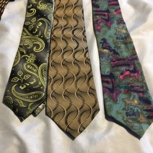 Murano Accessories - Bundle of 6 Ties . Colorful